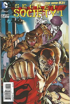 JUSTICE LEAGUE# 23.4 (SECRET SOCIETY) (DC Villains Month) (Reg. Cvr)