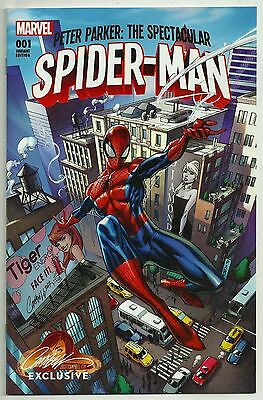 2017 Spectacular Spider-Man #1A Nm+ 9.6/9.8! J Scott Campbell Exclusive Variant