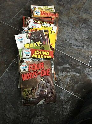 War Picture Library Comics (lot 8)