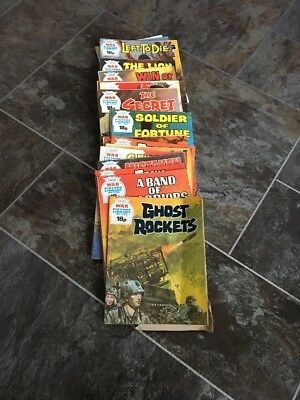 War Picture Library Comics (lot 9)