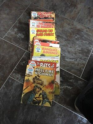 War Picture Library Comics (lot 12)