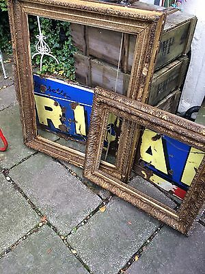2 Antique Gilted  Frames from scotland
