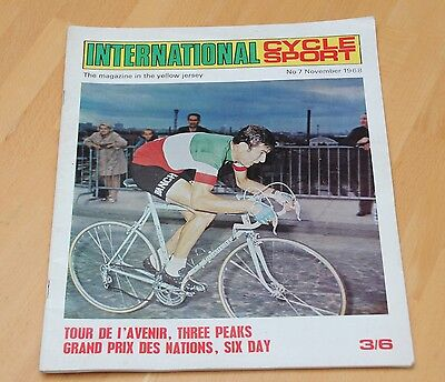 International Cycle Sport Magazine No 7, November 1968