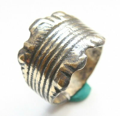 Ancient Medieval Bronze Finger Ring (JUL77)