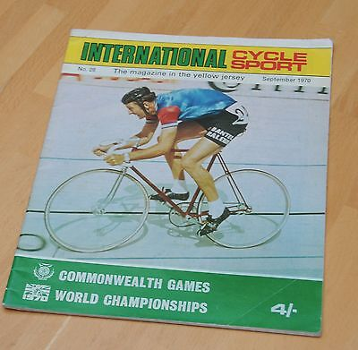 International Cycle Sport Magazine No 28 September 1970