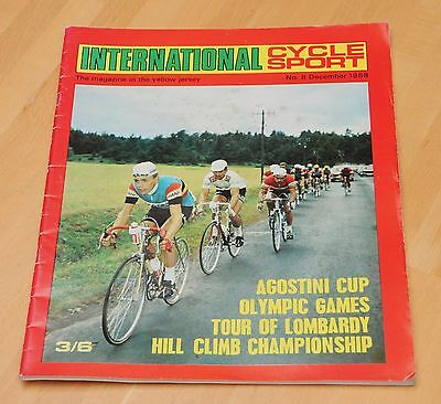 International Cycle Sport Magazine No 8, December 1968
