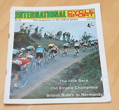 International Cycle Sport Magazine No 26, July 1970