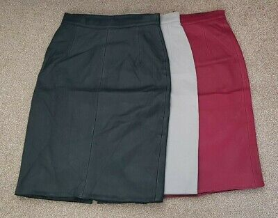 95557bfd64 MIJEONG PARK BURGUNDY fake patent leather skirt No 6 Store / Need ...