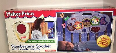 Fisher Price Sparkling Symphony Slumbertime Soother with Remote 1998