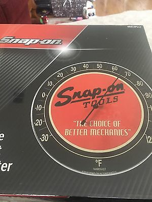 Snap-On Tools  Fahrenheit THERMOMETER Metal And Glass 12 Inch SSX15P117 Man Cave