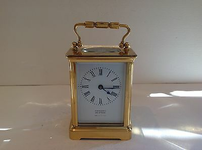 Stunning Miniature French Carriage Clock Fully Overhauled June 2017