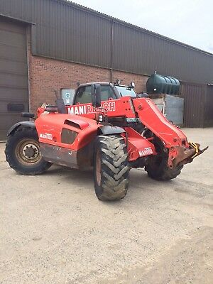 Manitou MLT 634 telehandler/tractors/machinery