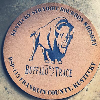 New authentic Buffalo Trace Whiskey Doormat FREE SHIPPING*
