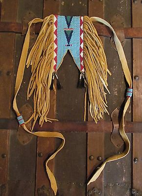 Reproduction of 1880s Sioux Boys Beaded Belt Bag