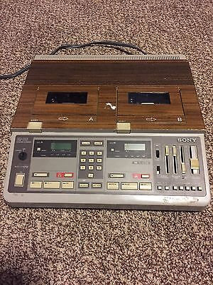Sony BM-246  Confer-Corder Court Conference Cassette Transcriber Recorder No Key
