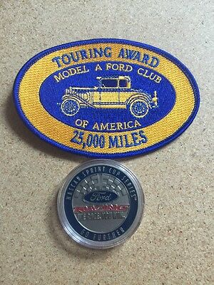 Ford Coin And Model A Club Patch