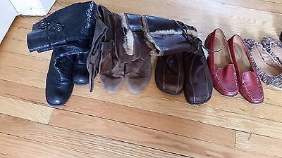 Women's Shoe and Boot lot - 7 pairs