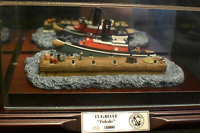 1997 Harbour Lights! Anchor Bay! Tugboat Toledo! AB 102S! Signed! COA! 450/4000!