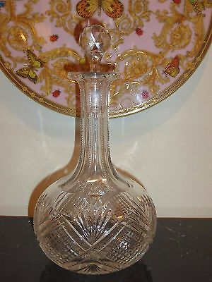 Antique Baccarat Crystal Decanter