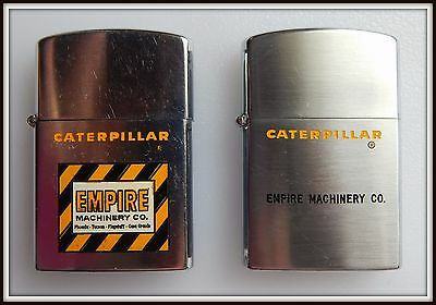 Vintage CATERPILLAR / Empire Machinery Co. Advertising Lighter Lot
