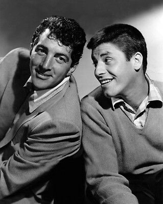 TV Series Actors DEAN MARTIN & JERRY LEWIS Glossy 8x10 Photo Promotional Poster