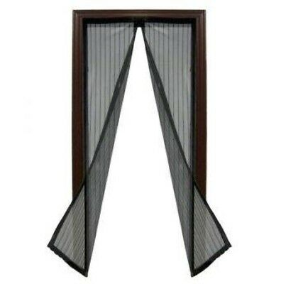 Instant Door Magnetic Fly Screen - Keeps Insects & Mozzies Outside
