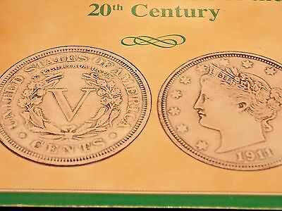 American Nickels Of The 20th Century 4 nickel set V, indian, war and regular
