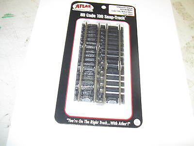 Atlas  Ho Scale Small  Straight Track Assortment Code 100 Nickel Silver