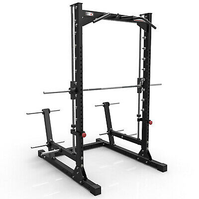 BARBARIAN Smith Machine Half Rack BB-9043 // Commercial Quality German Design