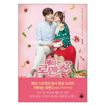My Secret Romance #1 OCN K-Drama Original Novel Book Sung Hoon 성훈 / 애타는 로맨스 1