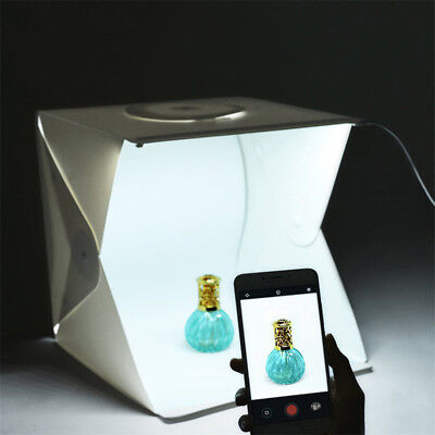 Hot Folding Lightbox Mini Photo Studio Photography Tent Kit  Mobile Phone Camera