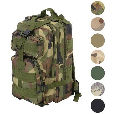 30L Outdoor Military Rucksacks Tactical Backpack Camping Hiking Trekking Packbag