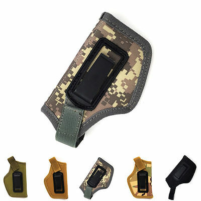 Concealed Belt Holster Ambidextrous Holster for Compact Subcompact Pistols