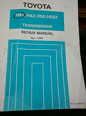 Toyota Land Cruiser and Dyna Transmission service Manual.