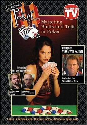 TrademarkMastering Bluffs and Tells Instructional DVD Instructional Red
