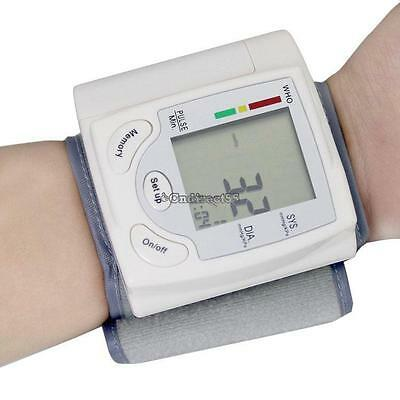 Hot Portable Sphygmomanometer Meter Arm Blood Pressure Monitor Pulse Health CAre
