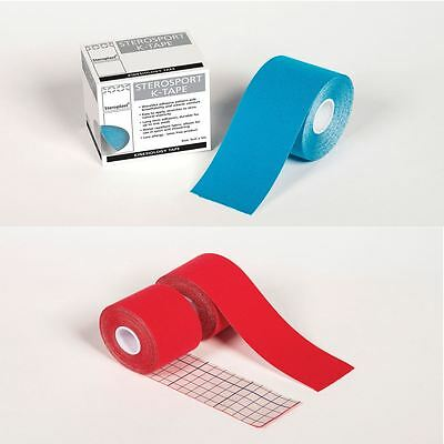 Steroplast 5cm x 5m Kinesiology physio Tape Theraputic muscle support strapping
