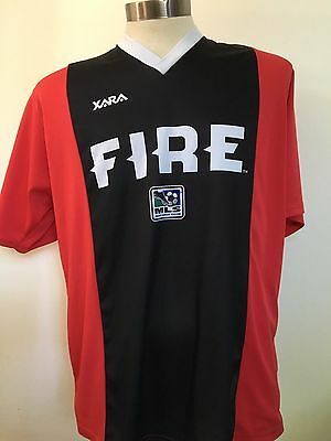 Chicago Fire MLS Soccer Shirt Football Jersey