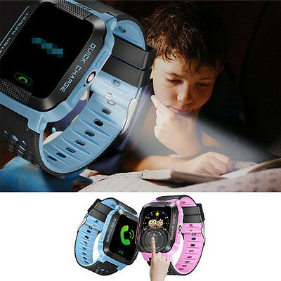 Smart Watch GPS Positioning SOS Activity Tracker Phone Watch Anti-Lost For Kids