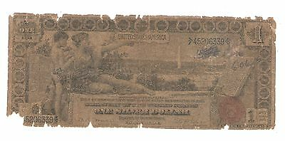 1896  One Dollar  Educational Note  United States Silver Certificate