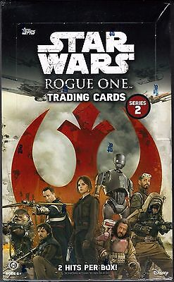2017 Topps Star Wars Rogue One Trading Cards Series 2 Factory Sealed Hobby Box