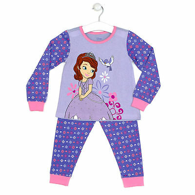 Girls Disney Sofia the First Pyjamas PJS Age's 2 Years  3 Years NEW