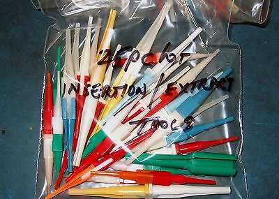 25Pc Assorted Pin Insertion/extraction Tool Lot