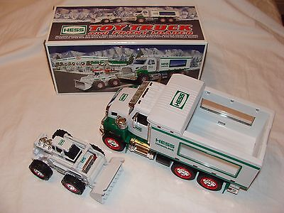 2008 Hess Toy Truck and Front Loader