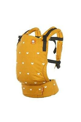 Tula Free To Grow Carrier Play Mustard Hearts New