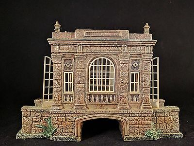 DEPT 56 Dickens' Village Series Covered Bridge at the Manor #58565