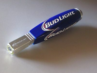 NEW Bud Light Short Jockey Tap Handle Beer Budweiser Pull knob Small Brewery Bar