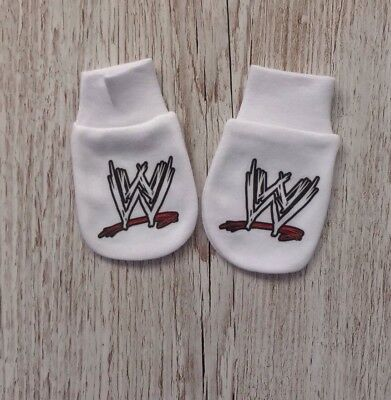 WWE Inspired Baby Scratch Mitts/mittens.ideal Baby Gift
