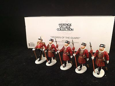 "DEPT 56 Heritage Village Collection ""Yeomen of the Guard"" #58397"