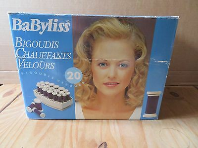 Babyliss Soft Curl Vintage Heated Rollers Retro 1990s Boxed